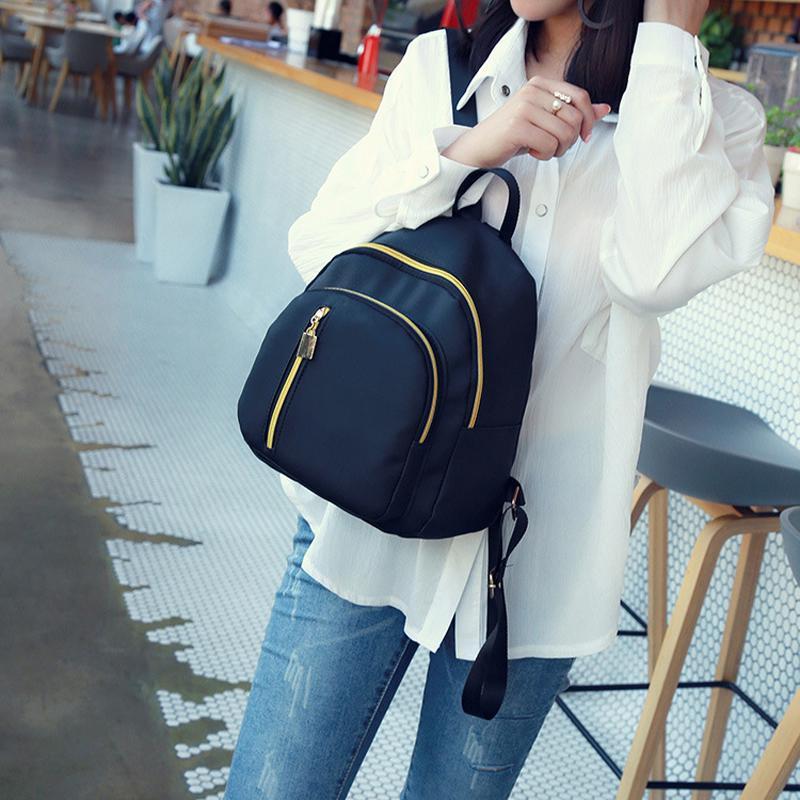 Рюкзак водонепроницаемый нейлоновый, удобный и небольшого размера порадует школьника или студента