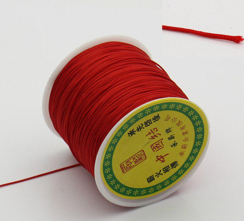 2Pcs 70M//Roll Waxed Cotton Cord 1.2mm Jewellery Making Thread String Beading