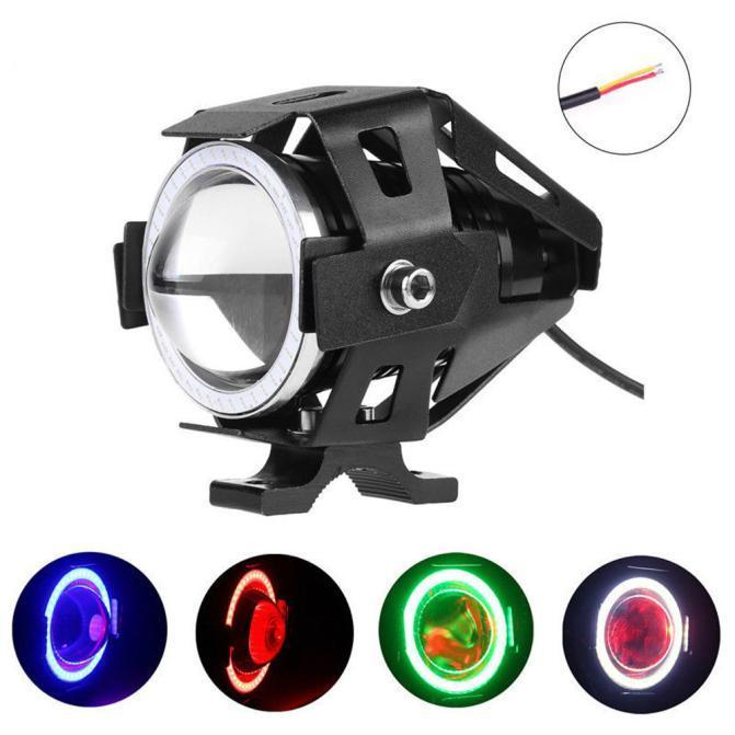 Lights & Lighting Beautiful 3000lm 12v-80v Motocycle Waterproof Headlight 3 Mode 4 Color 125w U5 Cree Led Driving Fog Spot Head Light Lamp Buy Now Headlamps