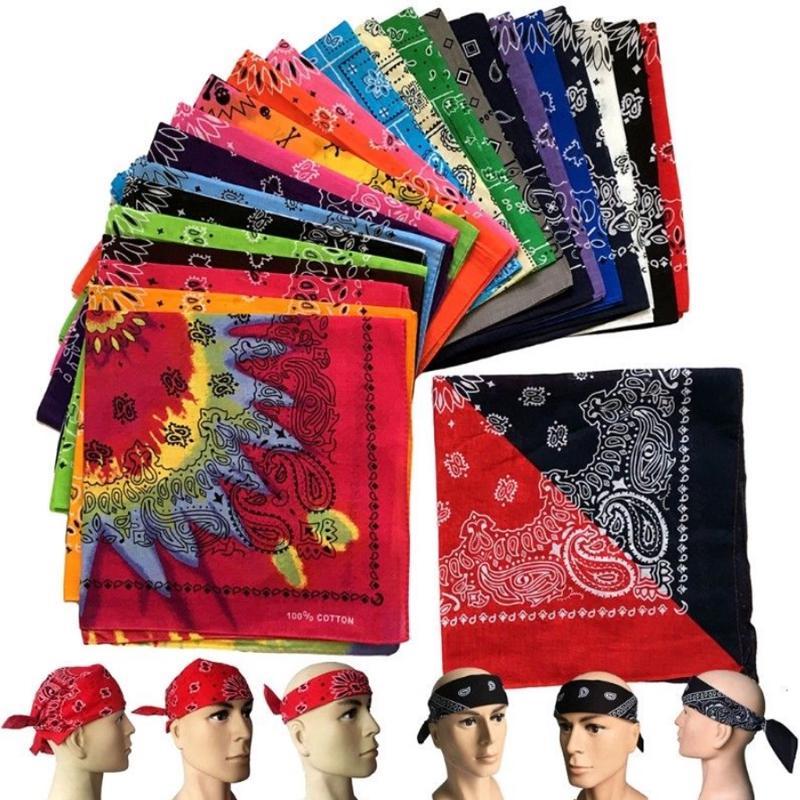 Разноцветные платки или банданы или напульсники – купить по низким ценам в интернет-магазине Joom