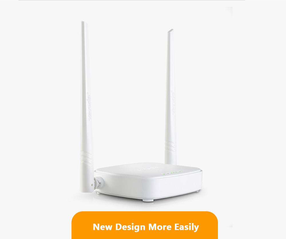 English Version Tenda N301 Wifi Router Eu Adapter 300mbps 80211 B G Wireles 4port 2 Antena 1 Of 10