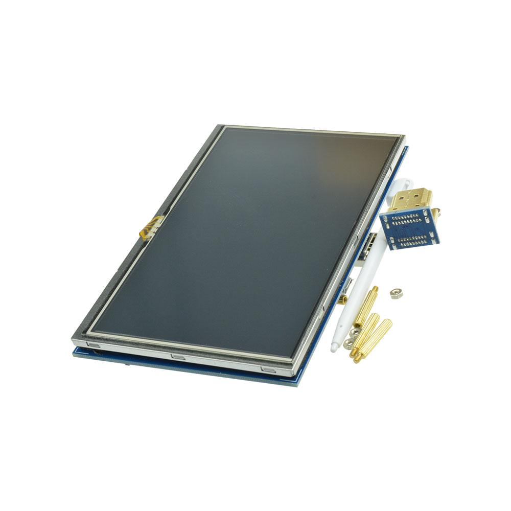 LCD Touch Screen Display 2 8/3 2/3 5/5 0 Inch for Raspberry Pi 3 / 2 /B+  HMI LCD