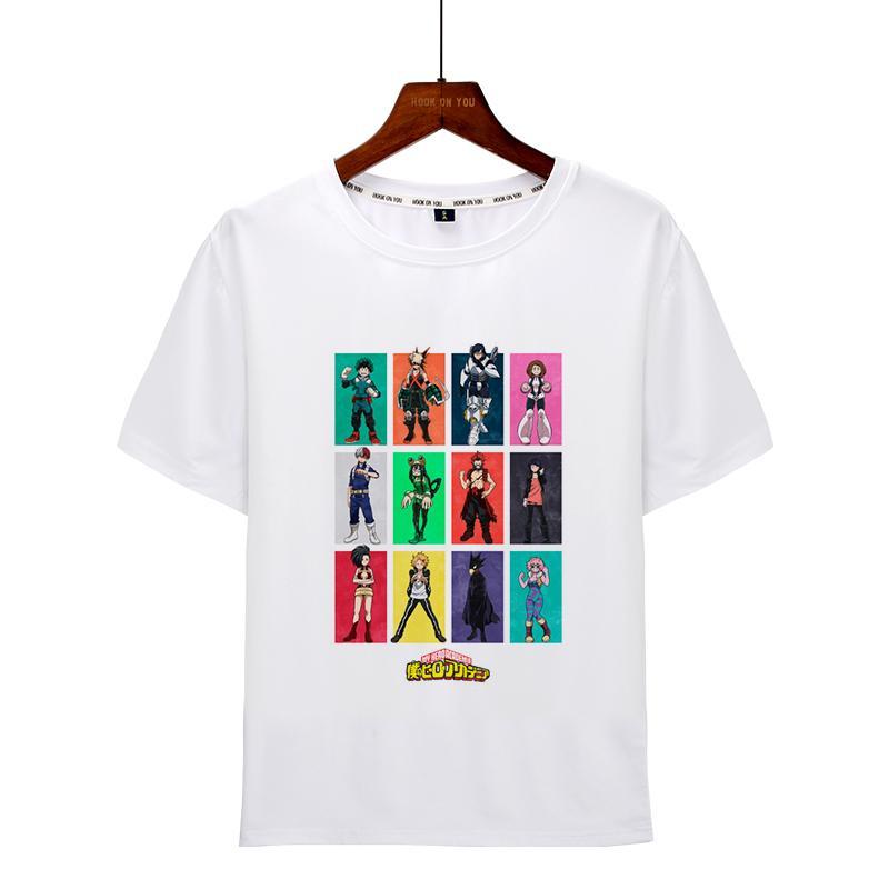 Boku No Hero Academia T Shirt Deku Print T Shirt My Hero Academia Anime Shirt Men Buy At A Low Prices On Joom E Commerce Platform