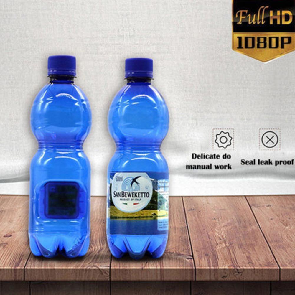HD 1080P Portable Hidden Spy Camera DVR Camcorder Water Bottle Motion Detection