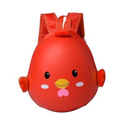 dd25c7404445 Cute Kids Backpack Chicken Eggshell Toddler Preschool Satchel Rucksack (Red)