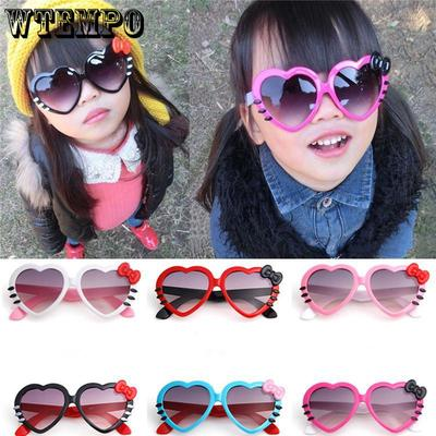 Black Toddler Cartoon Polarized Sunglasses Cute Fashionable Sunglasses for Baby Boys Girls Children Silica Eyewear
