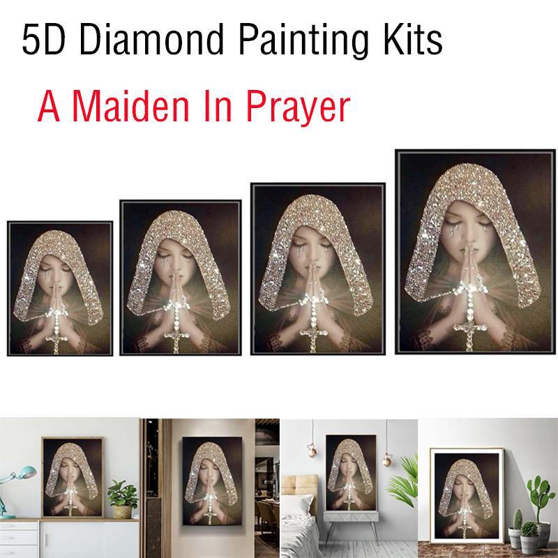 Diamond Painting Couple Cat DIY 5D Diamond Embroidery Mosaic Animal Kits MW