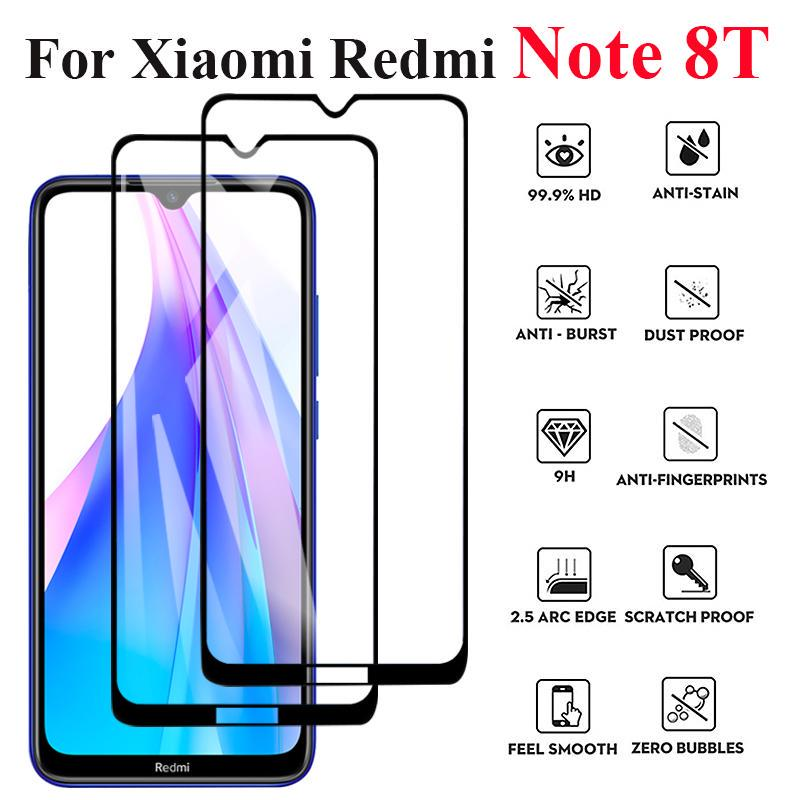 Полная обложка закаленное стекло для Xiaomi Redmi Примечание 8T 8 7 6 Pro Mi 9 se 8 9T CC9E Anti-scratch Экран Протектор фильм фото
