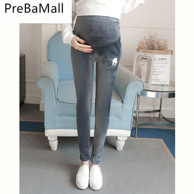 227f46e9d Además de la maternidad de terciopelo leggings pantalones para las mujeres  de terciopelo engrosado con embarazo embarazada - comprar a precios bajos en  la ...