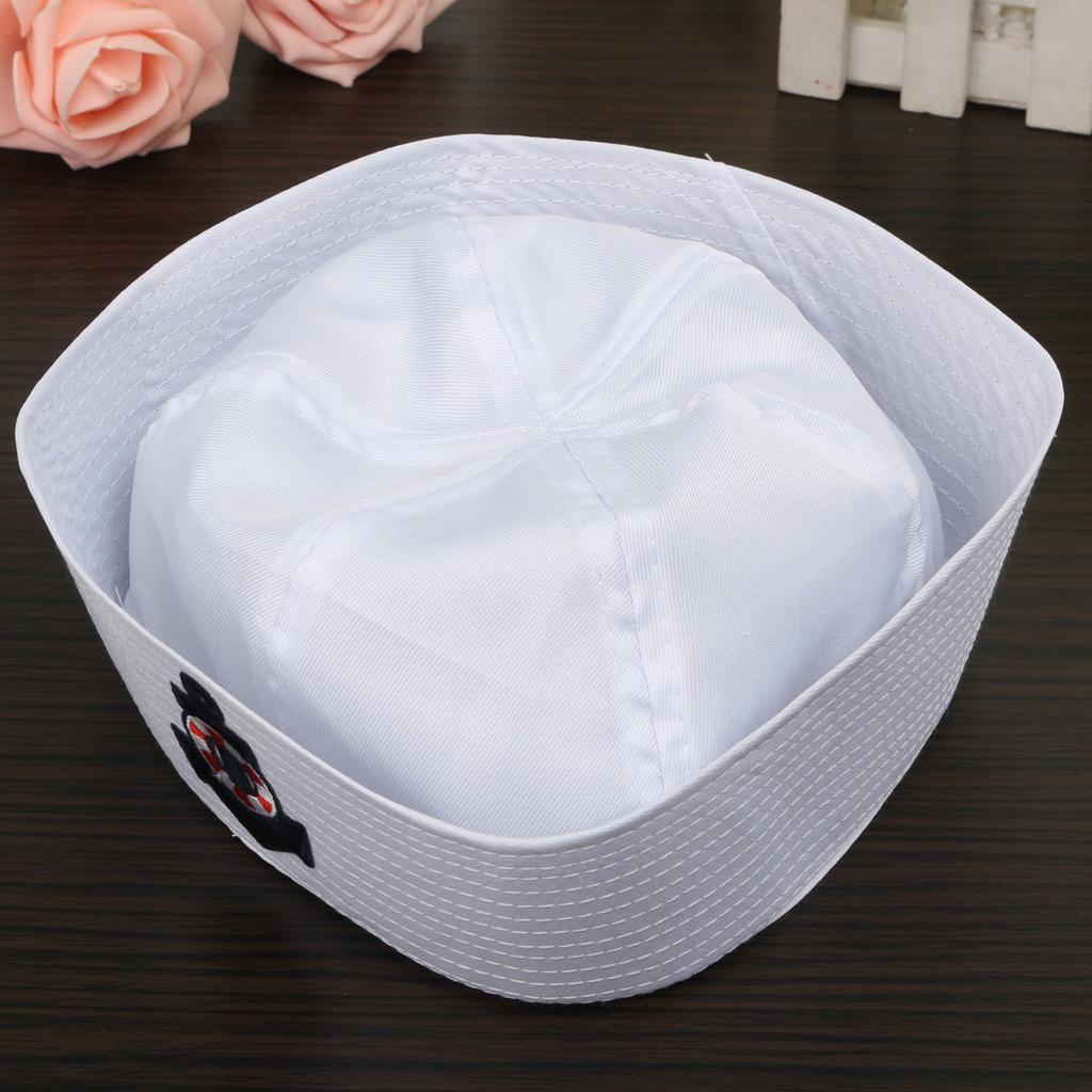 moda inalta sosesc magazin Marinar gogoasa White Hat Fancy Dress Navy marine unisex cap ...