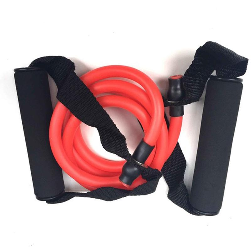 Yoga Pull Rope Elastic Resistance Bands Fitness Professional training 120cm