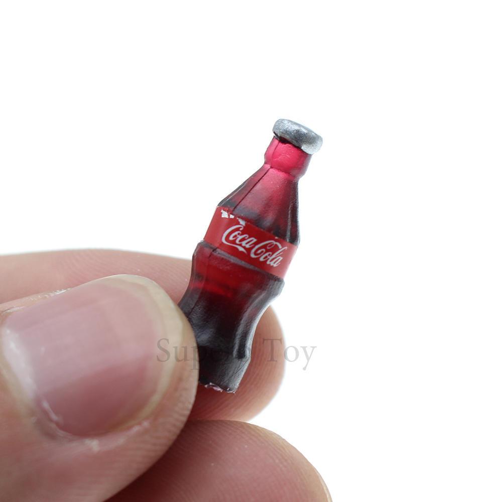 10 PCS Mini Doll Haushalt Zubehör Mini Cola Flaschen Simulation ...