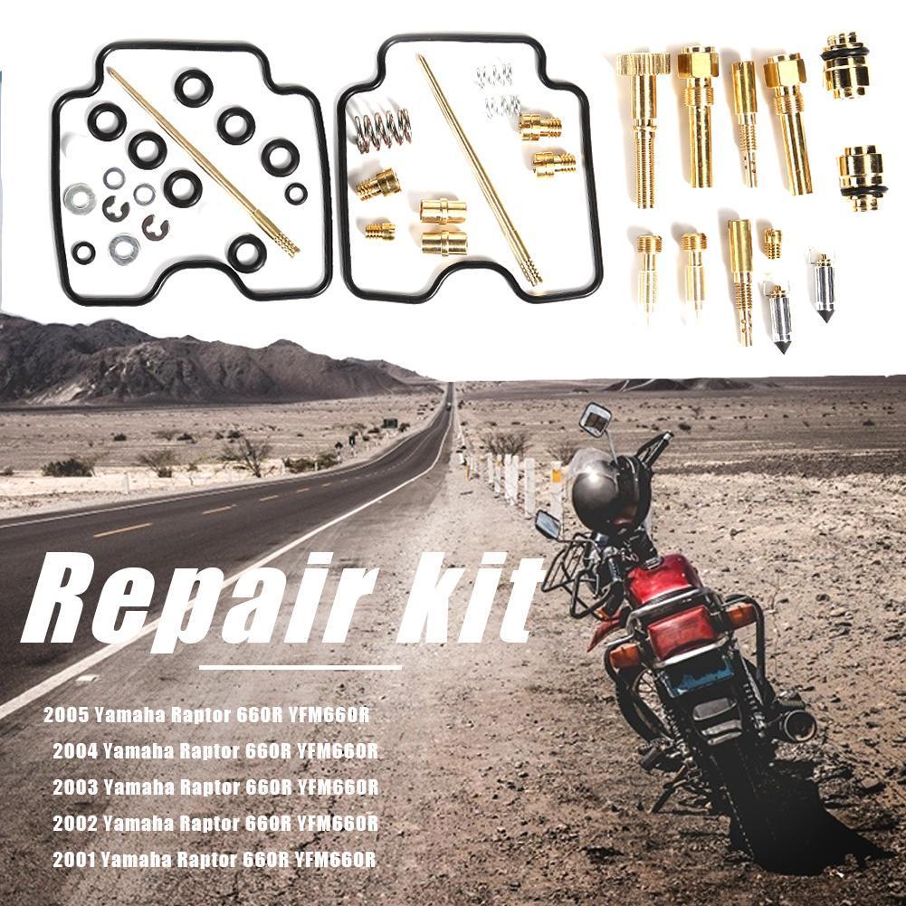 Carburetor Repair Kit JAPAN 2001-2005 Yamaha 660 Raptor Yfm660r Carb Rebuild New