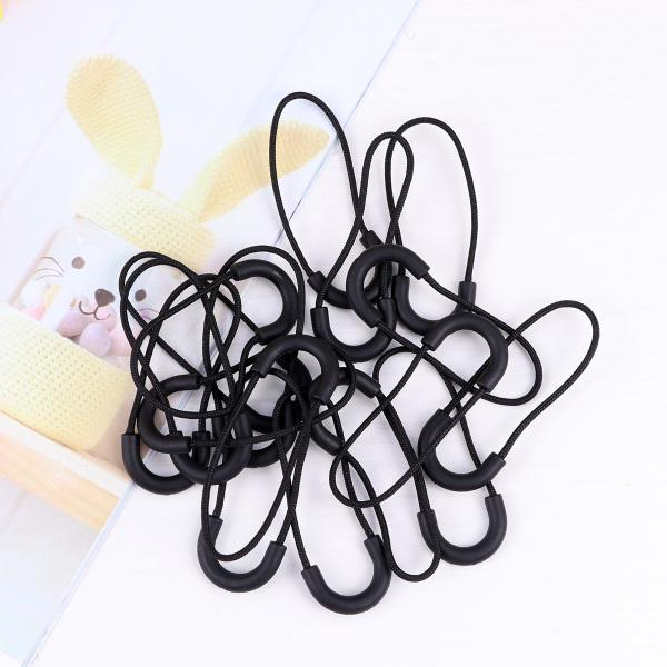 Luminous Zipper Pulls Cord Replacement for Backpacks Jackets Bags Luggage 20 Pcs