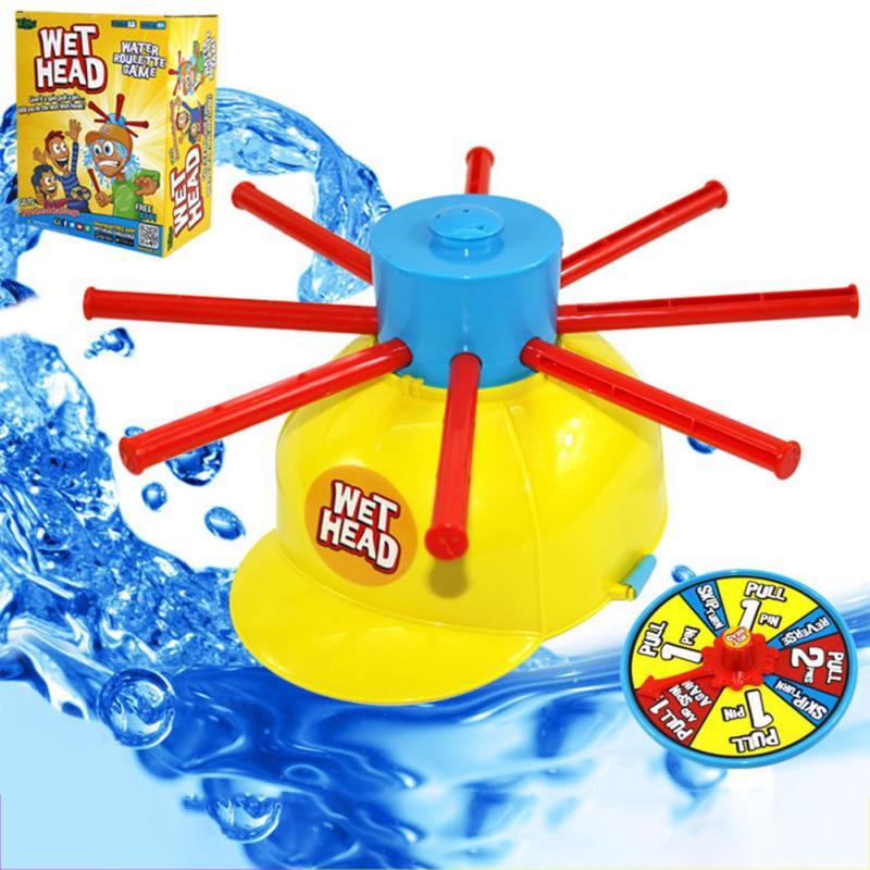 996add1e5d7ec SA mojado agua reto Hat juegos mojados juguetes divertido plato para ...