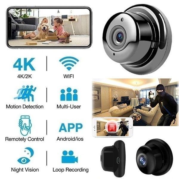 1080P HD Mini Spy IP WIFI Camera Wireless Hidden Home Security DVR Night Vision