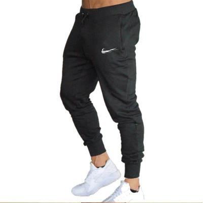 Fashion Casual Men's Pant Casual Slim Sports Printing Gym Cotton Jogging Trousers