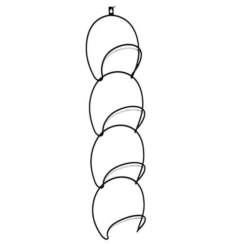 Pinji 1SET Perchero de la Pared Retráctil Plegable Colgante para Hogar Almacenamiento y organización Ganchos multiuso