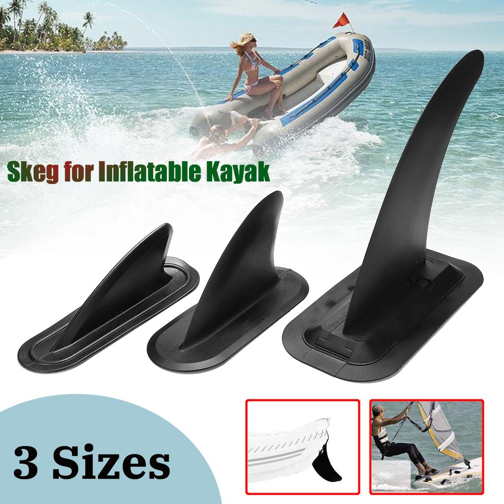 Durable ABS Replacement Kayak Tracking Fin Skeg for Inflatable Boat Dinghy
