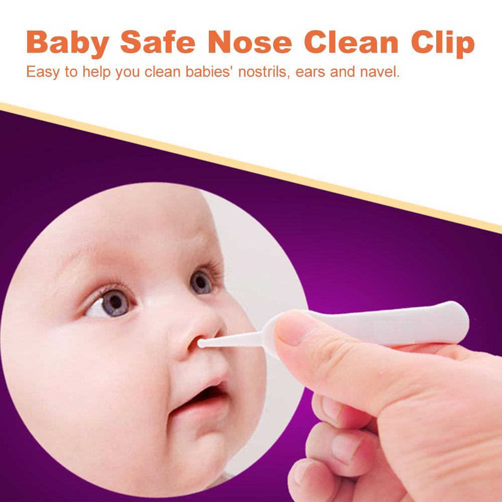Baby Kids Clean Nasal Pick Nose Booger Plier Safe Baby Nasal Booger Clip