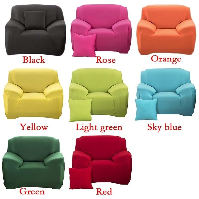 1//2//3//4 Seaters Plush Colorful Recliner Sofa Covers Printing Couch Slipcovers UK