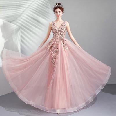 c4afaa56c6d Мори свадебный чешский платье горный хрусталь вышивка бисером кружевное свадебное  платье линия партии вечерние платья