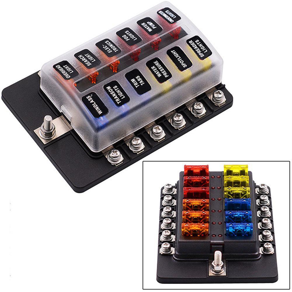 Mit LED Anzeiger Anzeige modifiziert Eissicherung Box Block Panel  Sicherungen Auto ErsatzTeile Sicherung Halter Box – günstig im Onlineshop  von Joom ...
