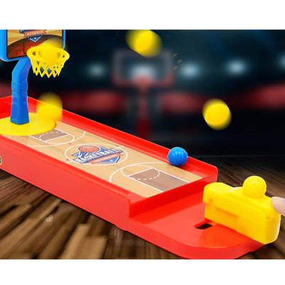 Game Room 2pcs Shoot & Score Mini Basketball Shooting Game Desk Travel Office Desktop Toy Gift Toy For Children D4 Puzzles & Games