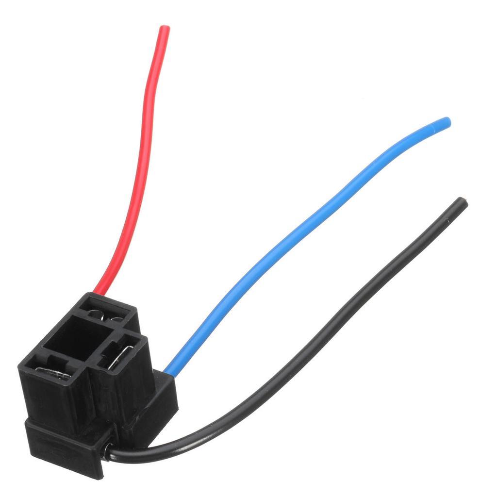 H1/Scheinwerfer Nebel Lampe Gl/ühbirnen Ersatz Sockel Halterung Verkabelung Stecker Plug