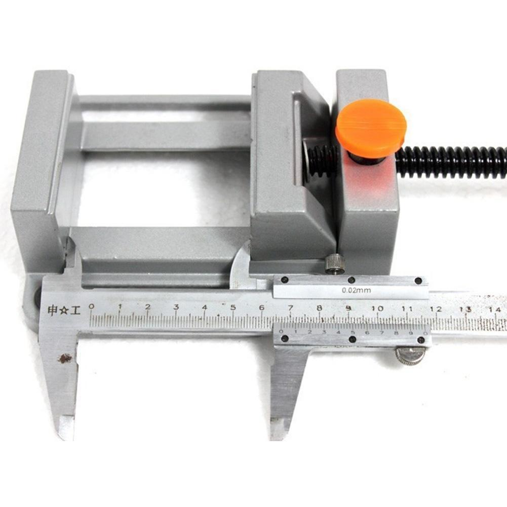 Mini Schraubstock Aluminium Bohrmaschine Schraubstock drehen Hand ...