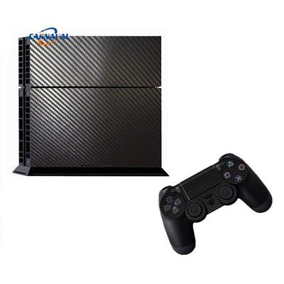 3D Carbon Fiber Sticker Cover Protector Skin For PS4 Durable