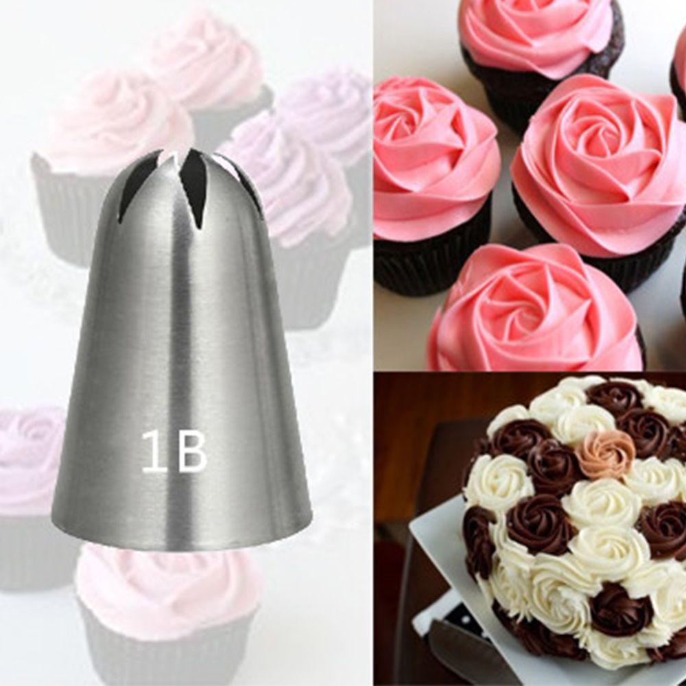 Cupcake Icing Piping Nozzles Cake Decorating Tool Baking Mold Cream Nozzle