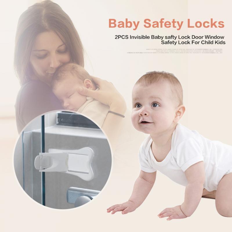 5pc Safe Baby Kid Box Drawer Cupboard Cabinet Wardrobe Door Fridge Safety Lock P