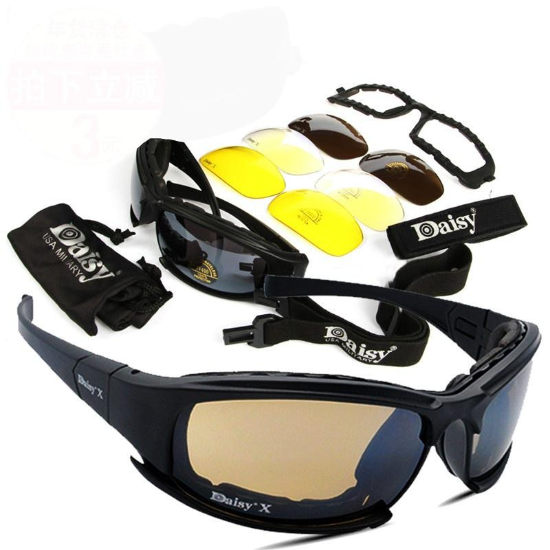 f4f8bd373d DAISY X7 Goggles 4LS Men Military Polarized Sunglasses Bullet-proof Airsoft  Shooting Gafas Smoke-buy at a low prices on Joom e-commerce platform