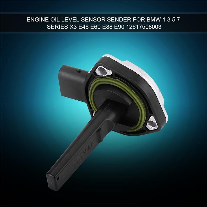 Oil level sensor engine oil level sensor sender for BMW 1 3 5 7 series X3  E46 E60 e88 E90 12617508003