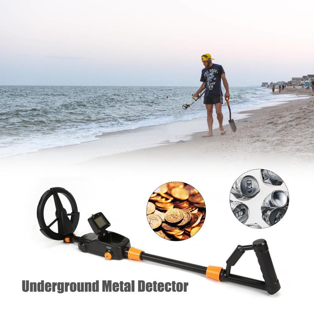 Metal Detector Underground Gold Finder Treasure Hunter with LCD Display UK K0K8