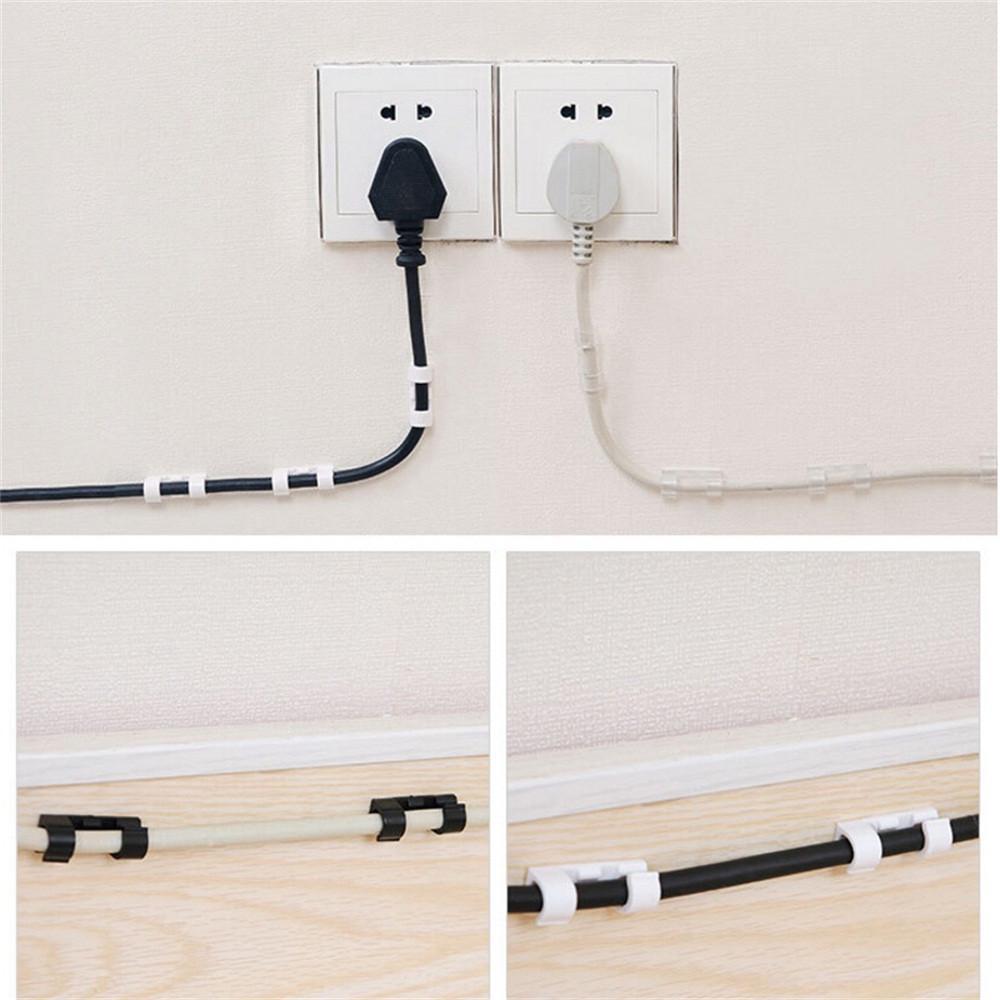 20pcs selbstklebenden Kabel-Clips Veranstalter Drop Draht Halter ...