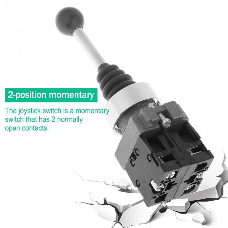 XD2PA22CR 2NO 2position Spring Return Momentary JoyStick Joystick Switch