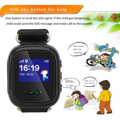 Clever Child Cute Smartwatch Safe-keeper Sos Call Anti-lost Monitor Real Time Tracker For Children Base Station Location App Control Men's Watches Watches