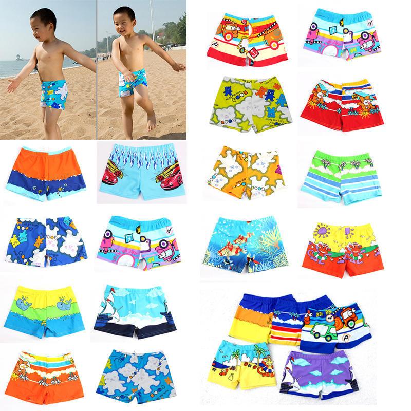 Patrón de dibujos animados bebé niño traje de baño surf troncos de natación para  niños colores al azar - comprar a precios bajos en la tienda en línea Joom 40a4ecba09c