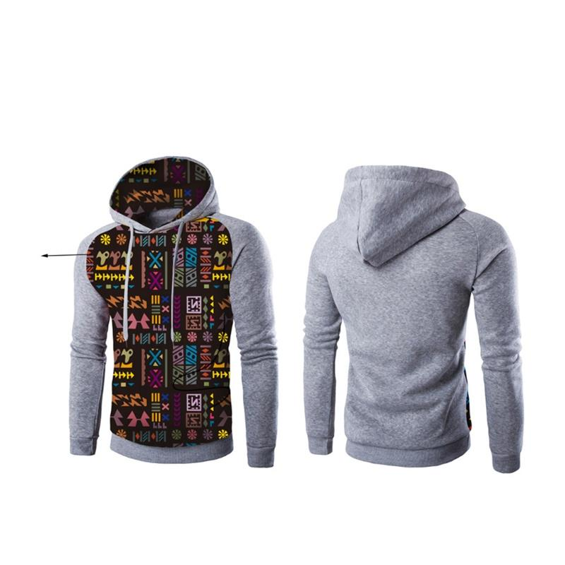 Men Hooded Soft Sweater Patriot Sweatshirt Street Style Ammo Flag Fashion S-3XL