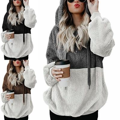 0c46125afa Kobiety Znosić Bluza z kapturem Swetry Bluzy z długim rękawem Sexy Outdoor  Wygodne Ciepłe