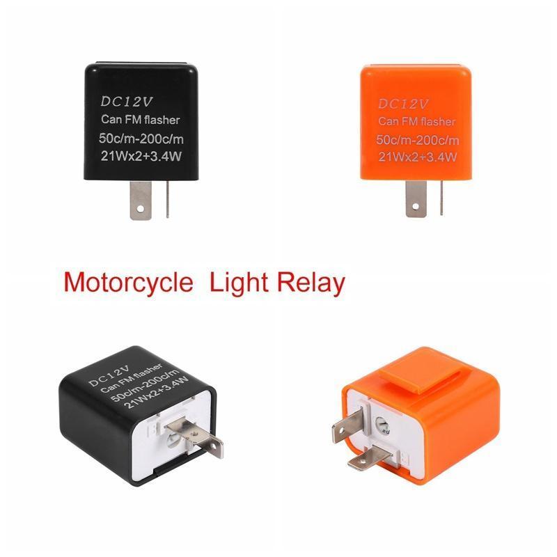 12V Motorrad Lastwiderstand Decoder LED Blinker Widerstand Adapter f/ür Motorrad DC 12V 21W