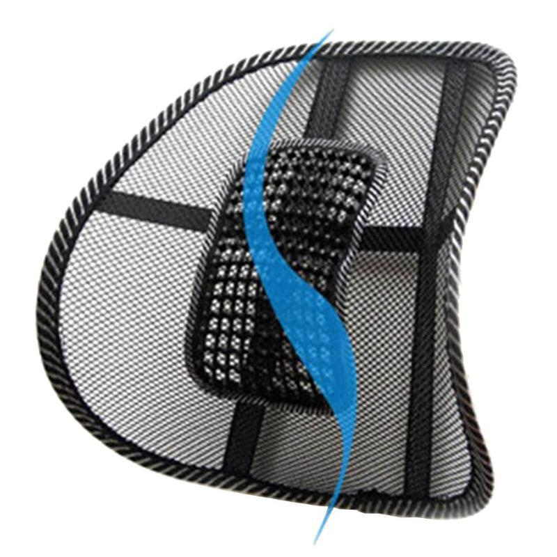 Mesh Lumbar Back Brace Support Office Home Car Seat Chair Cushion Cool Buy At A Low Prices On Joom E Commerce Platform