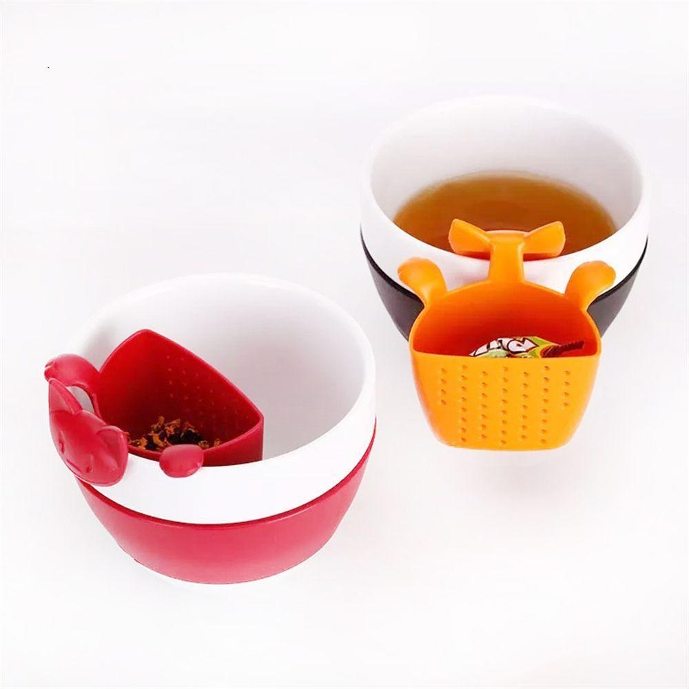 1PC Grenade Silicone Infuseur Thé Loose Tea Leaf Passoire Filtre Herbal Diffuseur