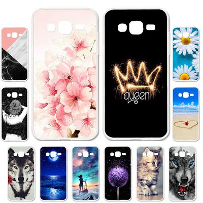 Akabeila Cases for Samsung Galaxy J2 Prime Grand Prime 2016 SM-G532F Cover Painted Case Phone Bag