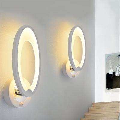 Candle Holder Living Room Corridor Wall Lamp 3W and E27 Lamp Holder Bedside Reading Rocker Wall Light,2 Toggle Switches,Tendlife Bedroom Wall Lamp LED Wall Lamp Indoor