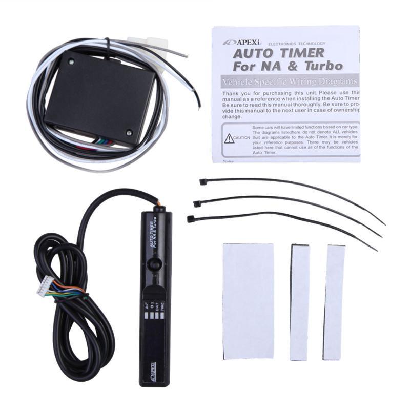 Universal Apexi Auto Turbo Timer For Na, Apexi Turbo Timer Wiring Diagram
