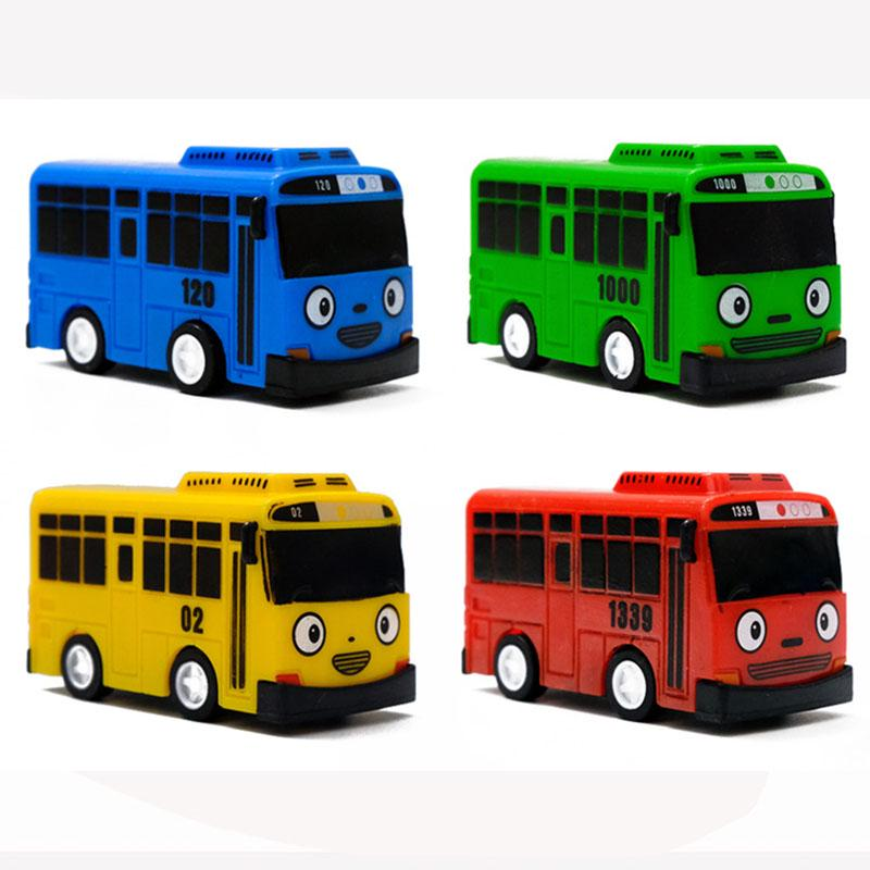 5 PCS Mini Tayo The Little Bus Cartoon Car Toy Children Kids Educational Gift AU