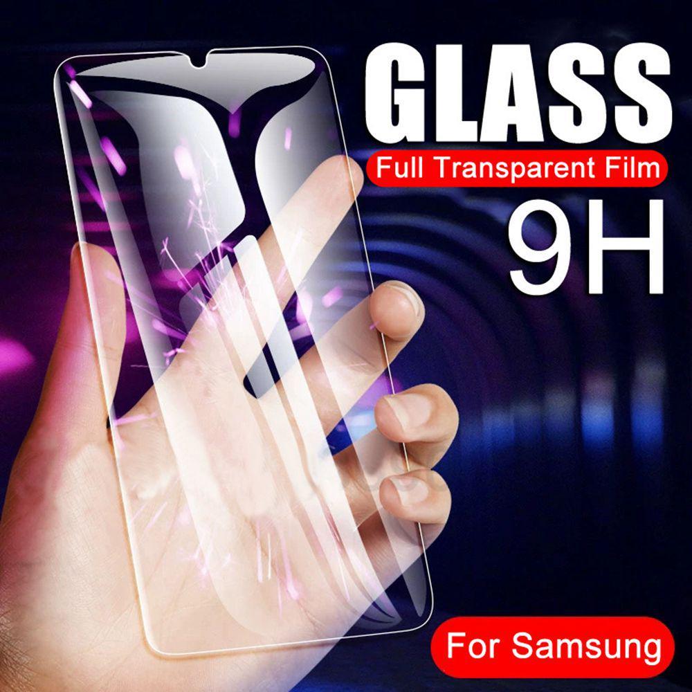 Закаленный стеклянный фильм для Samsung Галактика 10 20 30 40 50 70 30S 51 71 A7 J4 J6 Плюс протектор экрана фото